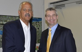 Chris Johnson the Grant Funding Expert with Stedman Graham, partner of Oprah Winfrey